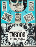 Movie Posters:Documentary, Taboos of the World & Other Lot (American International, 1963). Folded, Overall: Fine/Very Fine. Uncut Pressbooks (3) (Multi... (Total: 3 Items)