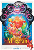 """Movie Posters:Animation, The Little Mermaid (Buena Vista, R-1997). Rolled, Very Fine-. One Sheet (27"""" X 40"""") DS Advance. Animation.. ..."""
