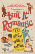 """Movie Posters:Comedy, Isn't It Romantic & Other Lot (Paramount, 1948). Folded, Fine. One Sheets (2) (27"""" X 41""""). Comedy.. ... (Total: 2 Items)"""