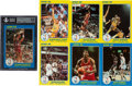 """Basketball Cards:Sets, 1985 Star Co. """"NBA Court Kings"""" Series One and Two Near Set (49/50). ..."""