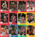 Basketball Cards:Sets, 1985 & 1986 Star Company Basketball Secondary Complete Sets Collection (6). ...