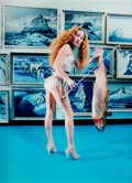 Photographs, David LaChapelle (American, b. 1964). Fish Stick, 1998. Dye coupler. 23-1/4 x 16-7/8 inches (59.1 x 42.9 cm). Signed in ...