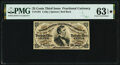 Fractional Currency:Third Issue, Fr. 1291 25¢ Third Issue PMG Choice Uncirculated 63 EPQ*.. ...