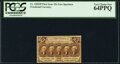 Fractional Currency:First Issue, Fr. 1282SP 25¢ First Issue Narrow Face Specimen PCGS Very...