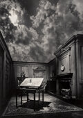 Photographs, Jerry Uelsmann (American, b. 1934). Untitled (Philosopher's Desk), 1976. Gelatin silver. 13-5/8 x 9-3/4 inches (34.6 x 2...