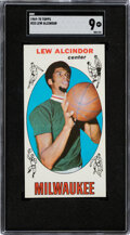 Basketball Cards:Singles (Pre-1970), 1969 Topps Lew Alcindor #25 SGC Mint 9 - None Higher! ...
