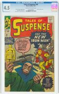 Silver Age (1956-1969):Superhero, Tales of Suspense #48 (Marvel, 1963) CGC VG+ 4.5 Cream to off-white pages....