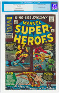Silver Age (1956-1969):Superhero, Marvel Super Heroes #1 (Marvel, 1966) CGC VF+ 8.5 Cream to off-white pages....