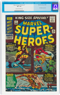 Marvel Super Heroes #1 (Marvel, 1966) CGC VF+ 8.5 Cream to off-white pages