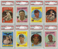 Baseball Cards:Sets, 1959 Topps Complete Baseball Set (572).Offered is a complete 1959Topps baseball set in solid middle grade. Included in this...