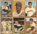 Baseball Cards:Sets, 1962 Topps Baseball Complete Set (598) Plus Two Variations (2).Offered is a complete set of 1962 Topps baseball in overall s...