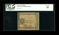 Colonial Notes:Pennsylvania, Pennsylvania October 25, 1775 2s/6d PCGS Gem New 65....