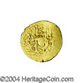 Egypt: , Egypt: Selim I gold Sultani 926AH (1520), obverse of Olcer 9636 andreverse 9635. Extremely rare type struck at the Cairo mint (Mis...