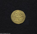 Egypt: , Egypt: Mustafa III gold Zeri Mahbub 1171AH (1757), KM105, NP-622.Choice brilliant UNC, a superb coin with full details andtremend...