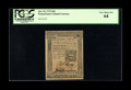 Colonial Notes:Pennsylvania, Pennsylvania October 25, 1775 18d PCGS Very Choice New 64....