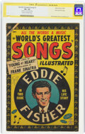 Golden Age (1938-1955):Miscellaneous, World's Greatest Songs #1 Stan lee File Copy - Signature Series (Atlas, 1954) CGC VG- 3.5 Cream to off-white pages....