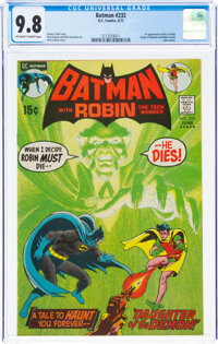 Batman #232 (DC, 1971) CGC NM/MT 9.8 Off-white to white pages