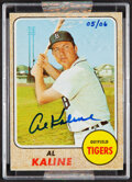 Baseball Cards:Singles (1970-Now), 2004 Topps Originals Signature Edition Certified Autograph Issue Al Kaline - Hand Numbered 5/6....