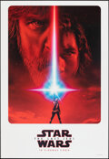"Movie Posters:Science Fiction, Star Wars: The Last Jedi (Walt Disney Studios, 2017). Rolled, Very Fine+. International One Sheet (27"" X 39.5"") DS Advance. ..."