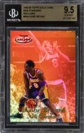 Basketball Cards:Singles (1980-Now), 1999 Topps Gold Label New Standard Kobe Bryant (Red Label) #NS4 BGS Gem Mint 9.5 - #'d 23/25. ...