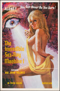 """Movie Posters:Adult, The Incredible Sex-Ray Machine (Spade Productions, 1972). Folded, Very Fine+. One Sheet (23"""" X 35"""") & Uncut Pressbook (4 Pag... (Total: 2 Items)"""