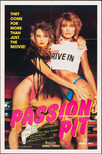 "Passion Pit & Other Lot (Essex Video, 1985). Folded, Very Fine. Video Posters (3) (25"" X 38"", 24"" X 3..."