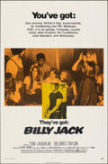 """Movie Posters:Action, Billy Jack (Warner Bros., 1971). Folded, Fine/Very Fine. One Sheet (27"""" X 41""""). Action.. ..."""