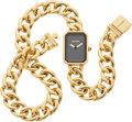 "Luxury Accessories:Accessories, Chanel 18K Yellow Gold Premiere Double Wrap Watch. Condition: 2. 12"" Length. ..."