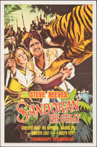 "Sandokan the Great & Other Lot (MGM, 1965). Folded, Overall: Very Fine-. One Sheets (2) (27"" X 41""). Adven..."