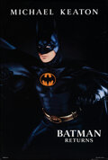 """Movie Posters:Action, Batman Returns & Other Lot (Warner Bros., 1992). Rolled, Very Fine. One Sheets (2) (27"""" X 40.25"""") SS Advance, Page Wood Artw... (Total: 2 Items)"""