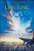 """Movie Posters:Animation, The Lion King (Buena Vista, 1994). Rolled, Very Fine/Near Mint. One Sheet (27"""" X 40"""") DS Advance, John Alvin Artwork. Animat..."""