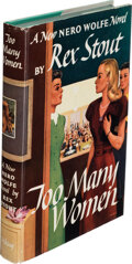Books:Mystery & Detective Fiction, Rex Stout. Too Many Women. New York: The Viking Press, 1947. First edition....