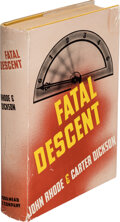 Books:Mystery & Detective Fiction, John Rhode and Carter Dickson. Fatal Descent. New York: Dodd, Mead & Company, 1939. First edition....