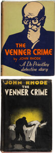 Books:Mystery & Detective Fiction, John Rhode. The Venner Crime. London: Odhams Press, [1933]. First edition.... (Total: 2 )