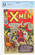 Silver Age (1956-1969):Superhero, X-Men #2 (Marvel, 1963) CBCS VG- 3.5 Off-white to white pages....