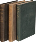 Books:Mystery & Detective Fiction, Mrs. Henry Wood. Roland Yorke. Philadelphia: T. B. Peterson & Brothers, [1869]. First edition.... (Total: 3 )