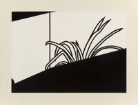 Patrick Caulfield (1936-2005) Spider Plant, 1973 Screenprint on wove paper 28-3/4 x 37-1/2 inches
