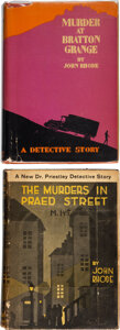 Books:Mystery & Detective Fiction, John Rhode. The Murders in Praed Street. New York: Dodd, Mead, and Company, 1928. First American edition of this Hay... (Total: 2 Items)