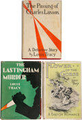Books:Mystery & Detective Fiction, Louis Tracy. The Lastingham Murder. New York: Edward J. Clode, [1929]. First American edition. ... (Total: 3 Items)