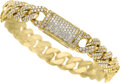 Estate Jewelry:Bracelets, Diamond, Gold Bracelet The bracelet features ...