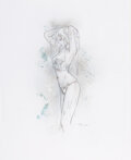 Original Comic Art:Illustrations, Luis Royo - Pin-Up Illustration Original Art (undated)....