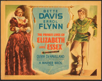 """The Private Lives of Elizabeth and Essex (Warner Bros., 1939). Very Fine+. Linen Finish Title Lobby Card (11"""" X 14&..."""