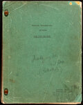 Movie Posters:Academy Award Winners, Gone with the Wind by Margaret Mitchell and Sidney Howard (Selznick International, 1939). Fine. Shooting Script (521 Pages, ...