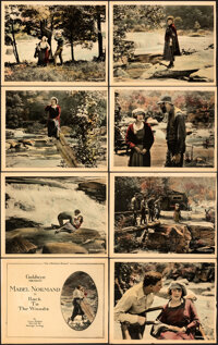 "Back to the Woods (Goldwyn, 1918). Fine/Very Fine. Lobby Card Set of 8 (11"" X 14""). ... (Total: 8 Items)"