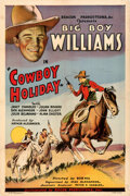 Movie Posters:Western, Cowboy Holiday (Beacon, 1934). Fine/Very Fine on Linen.