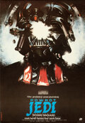 Movie Posters:Science Fiction, Return of the Jedi (Polfilm, 1984). Rolled, Very Fine....