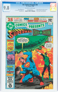 Modern Age (1980-Present):Superhero, DC Comics Presents #26 Superman and Green Lantern (DC, 1980) CGC NM/MT 9.8 Off-white to white pages....
