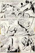 Original Comic Art, John Buscema et Jim Mooney Avengers #105 Planche 22 (Marvel, 1972)....