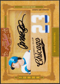 Baseball Cards:Singles (1970-Now), 2008 Playoff Prime Cuts Ryne Sandberg Autograph Jersey Card #24 - Serial Numbered 5/5....