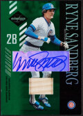 Baseball Cards:Singles (1970-Now), 2003 Leaf Limited Ryne Sandberg Autograph Bat Relic Card #169 - Serial Numbered 5/5....